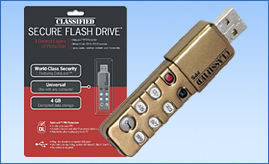 Classified Secure Flash Drive